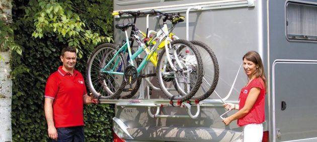 bike racks for motorhomes