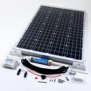 120w solar panel kit