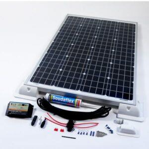 120w dual battery charging kit