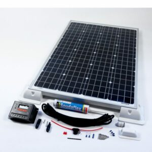 160w Solar Panel Deluxe Kit