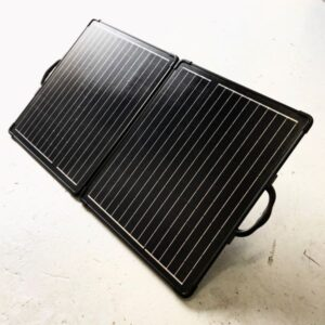 200w Briefcase Solar Battery Charger
